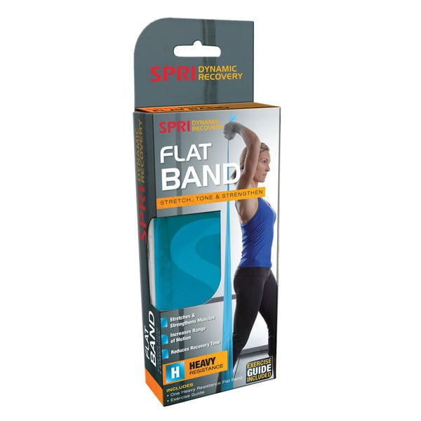 SPRI Flat Band – 5-Foot- Blue – Heavy