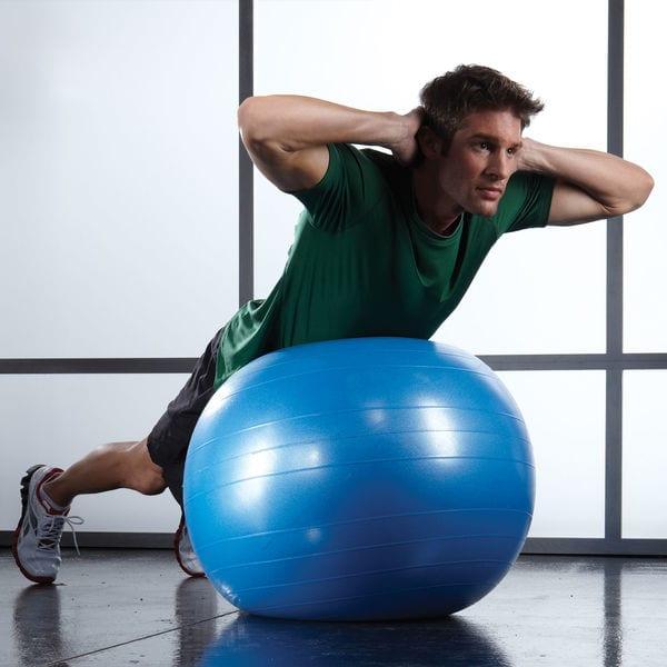 75 Cm Xercise Ball (blue)