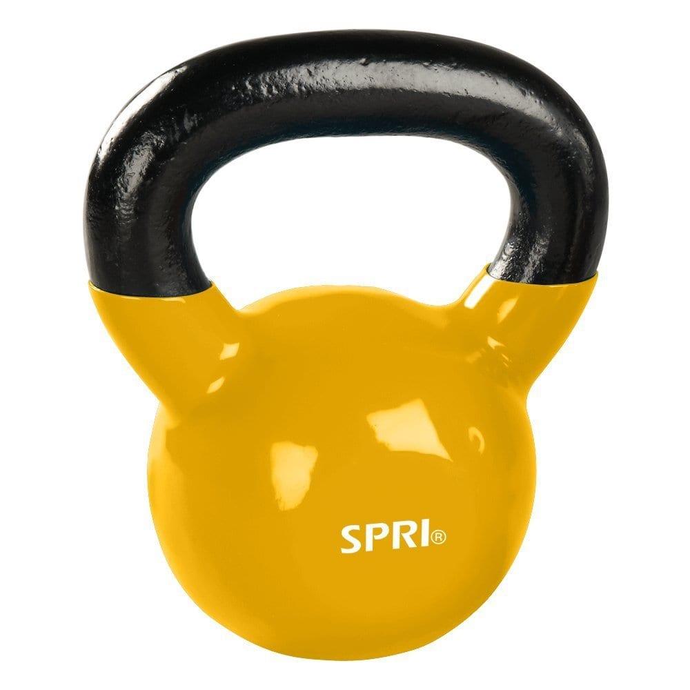 SPRI Kettlebell – 5lb-Yellow