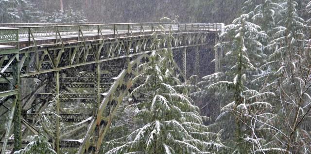 Fairfax Bridge over Carbon River