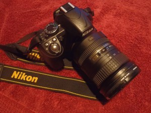 Nikon D3100 with 18-200mm Lens