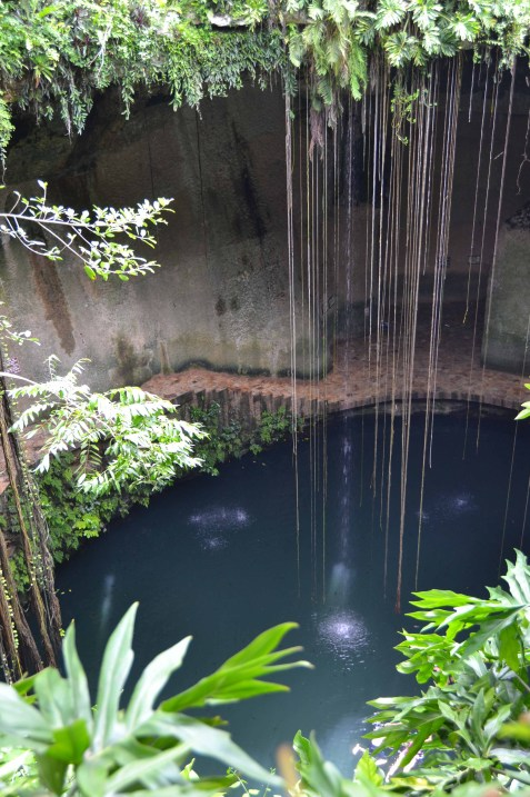 Ik Kil Cenote - View from Above