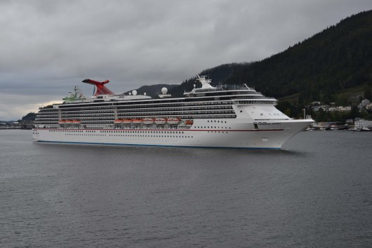 Carnival Cruise Line in Ketchikan