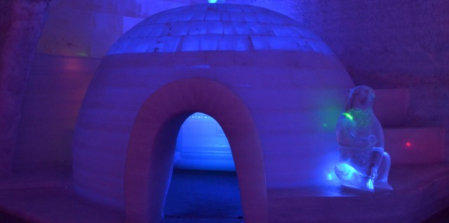 Ice Museum Igloo