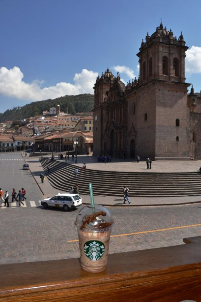Starbucks View of La Catedral