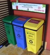 Recycling at Juan Valdez