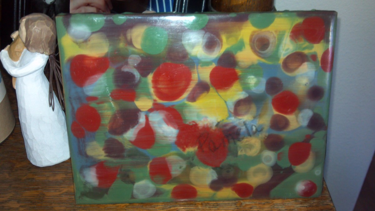 Trying Something New...Encaustic Painting
