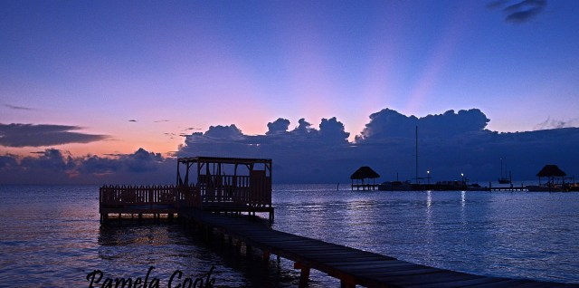 Caye Caulker Sunrise