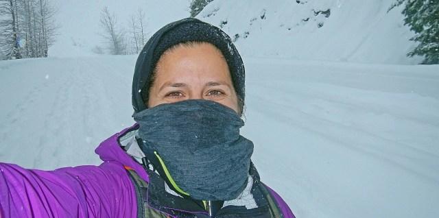 Snowshoe Selfie