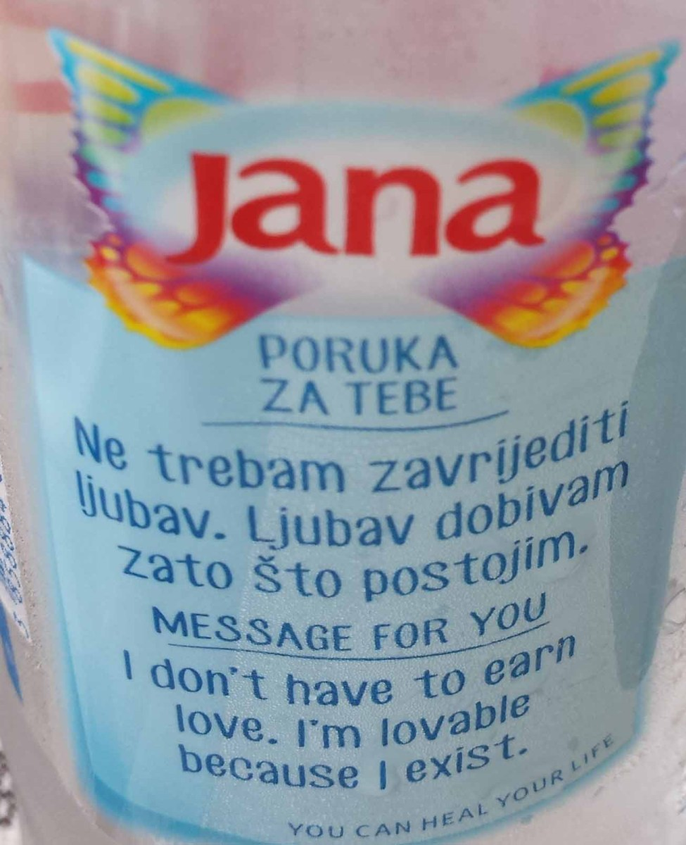 Inspiration on a Water Bottle