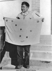 Alaska's state flag design came from 13-year old Benny Benson.