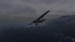 Cessna over Seward, Alaska