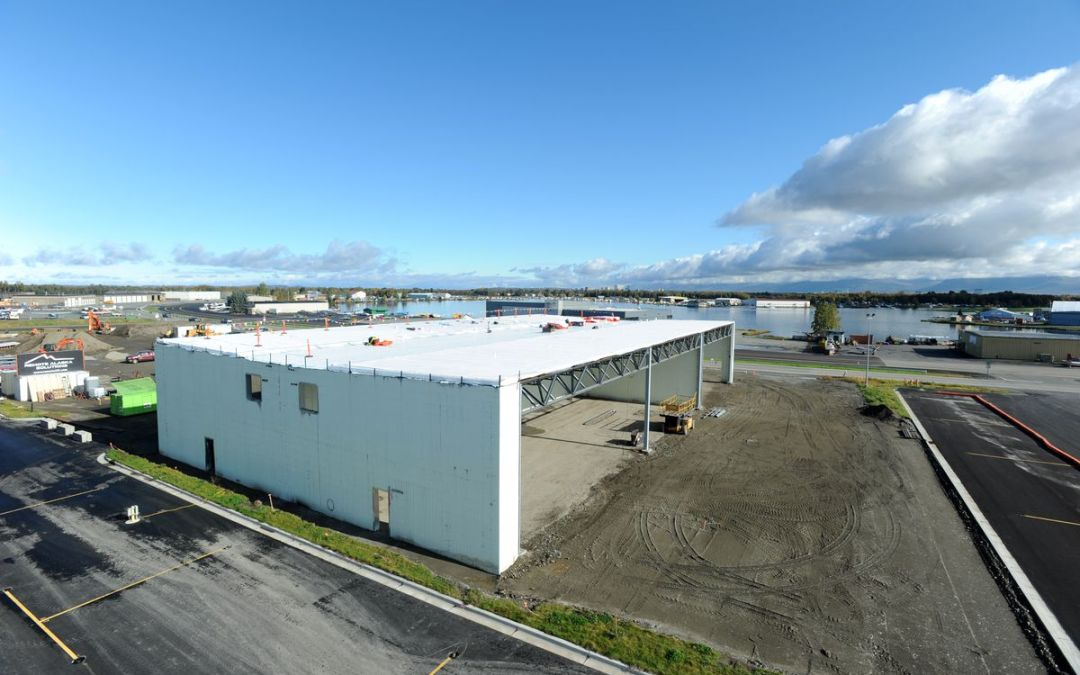 Lake Hood, Anchorage hot spot for floatplanes, will get three new hangars