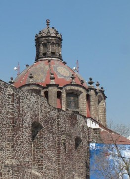 Church at Plaza San Fernando