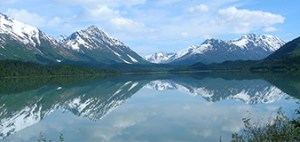 Summit lake view, Alaska