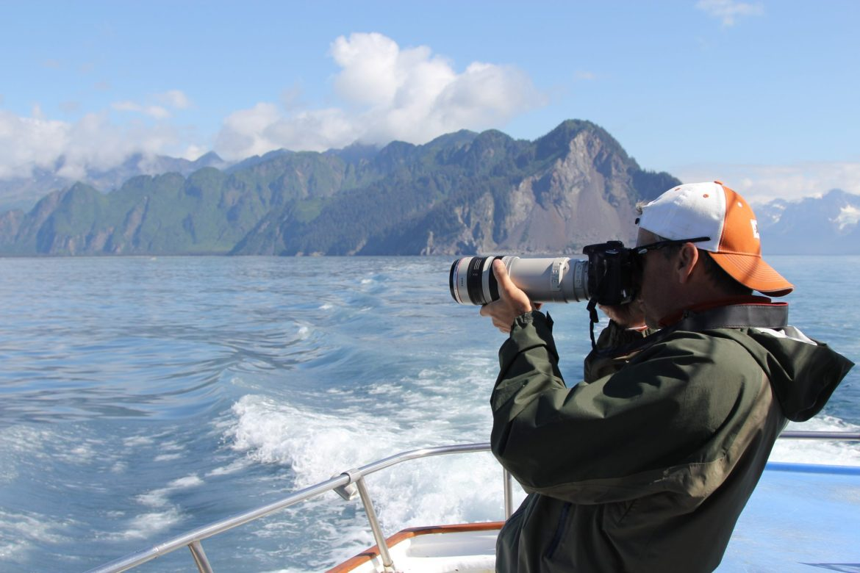 Sightseeing in Kenai Fjords
