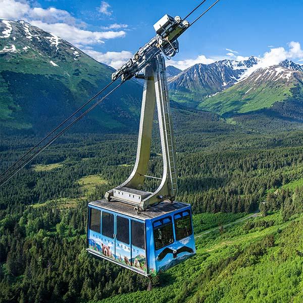 Girdwood Alaska tram ride