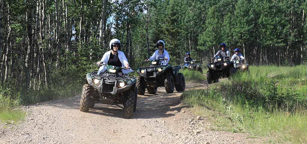 ATV guided tour Alaska
