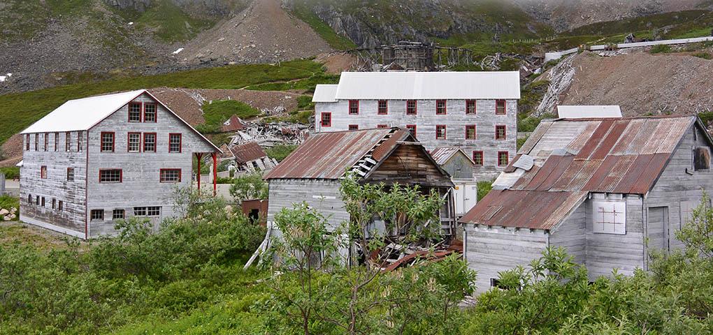 Hatcher Pass Alaska gold mine