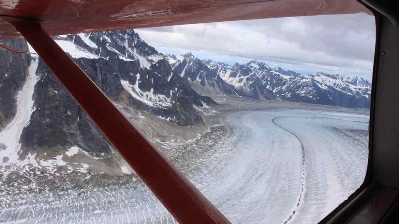 Flightseeing tour Talkeetna Alaska