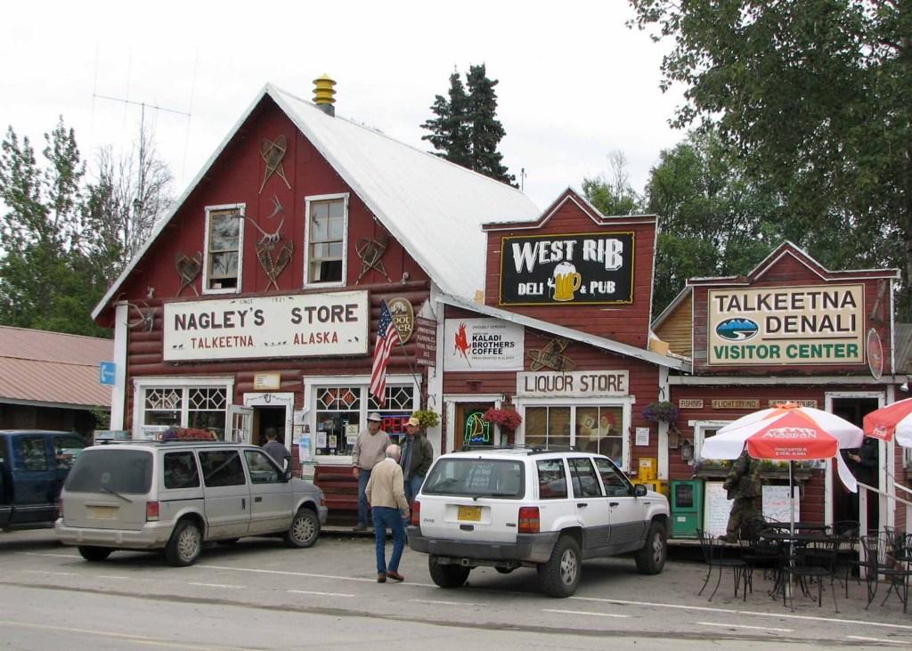 Main Street Talkeetna Alaska