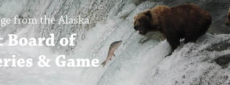 Rare joint Board of Fish, Game committee meeting this week