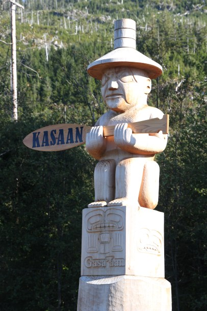Kasaan Welcome Totem (Photo Credit Dennis Sylvia)