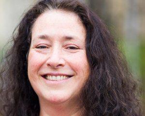 Julie Matweyou of Alaska Sea Grant smiling