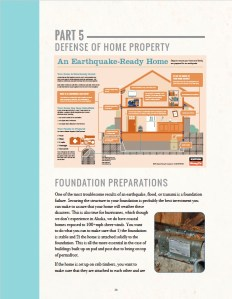 Sample page from Alaska Emergency and Disaster Homeowners Handbook