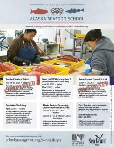 Alaska Seafood School 2021 schedule