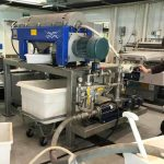 a surimi machine in a processing plant