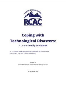 Cover of Coping with Technological Disasters: A User Friendly Guidebook, 2021