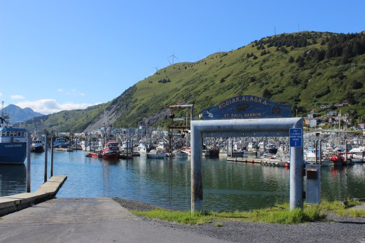 photo of St. Paul harbor in Kodiak