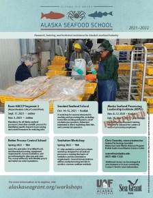 Alaska Seafood School workshop schedule 2021-2022