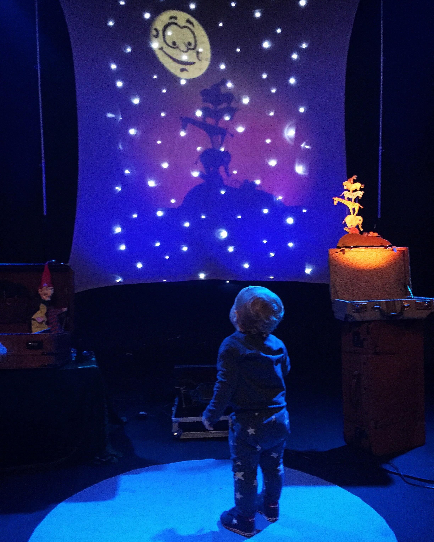 Teatro de sombras para la primera infancia