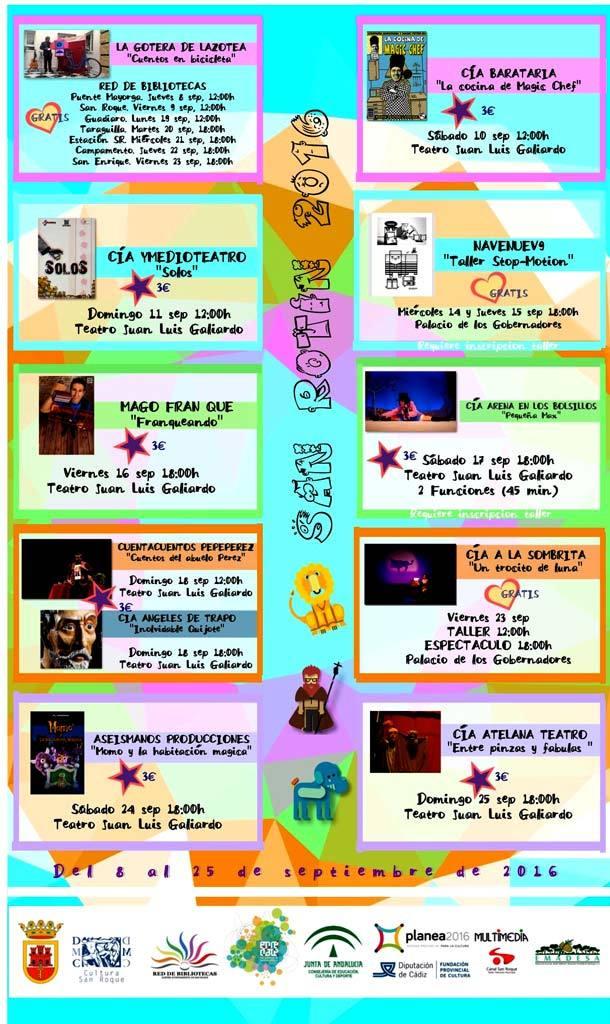 Programa Festival SANROTIN 2016