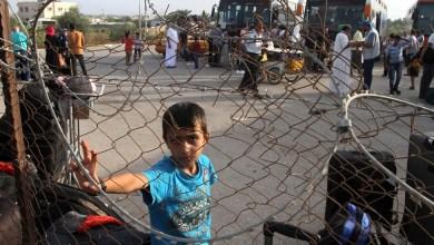 صورة متى ينتهى حصار غزة؟!