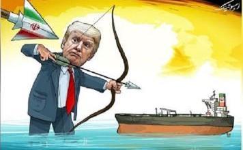 صورة ناقلات النفط الإيرانية تمخر عباب الكاريبي وتكسر الحصارين
