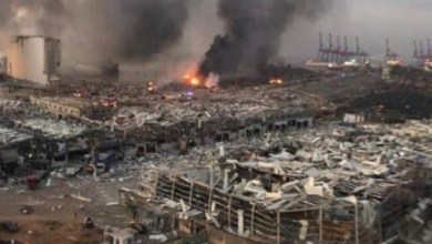 صورة اسباب حرق بيروت