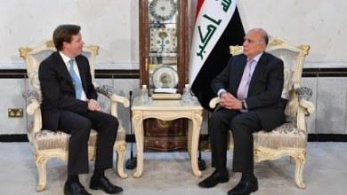"""صورة *وزير الخارجية فؤاد حسين: """"بغداد وواشنطن في خندق واحد لمحاربة داعش! """"*"""
