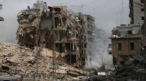 صورة تعرض لبنان لكارثة عظيمة نتيجة لإنفجار العنبر رقم 12 بما يوازي قنبلة نووية صغيرة