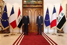 صورة الانفتاح الفرنسي على العراق..  حضور باريس هل يهدد نفوذ واشنطن؟