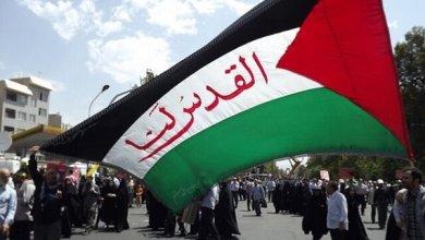 صورة تحرير كامل فلسطين يقترب بسرعة والاوهام لن تحمي كيان العدو…!