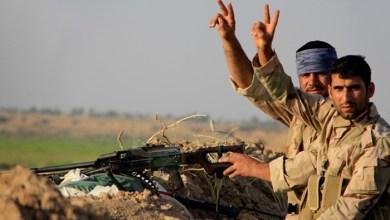 صورة الحشد الشعبي المقدس بندقية العراق..