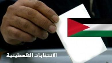 صورة أسئلة بشأن الانتخابات الفلسطينية