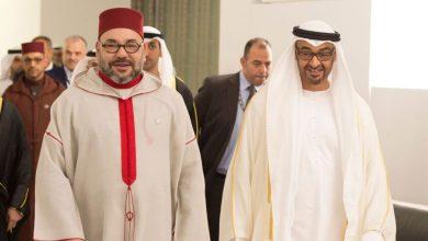 """صورة ما وراء افتتاح الإمارات لقنصلية بالصحراء الغربية في المغرب.. هل يسعى ابن زايد لـ""""جرجرة"""" محمد السادس إلى نادي المطبعين؟؟"""