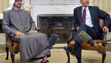 صورة أوباما يكشف ما قاله له محمد بن زايد في مكالمة هاتفية خلال الثورة المصرية.