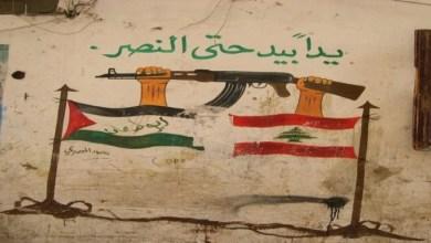 صورة لبنان وفلسطين بقلب وصوت واحد… لا للاحتلال لا للضم ولا للتطبيع