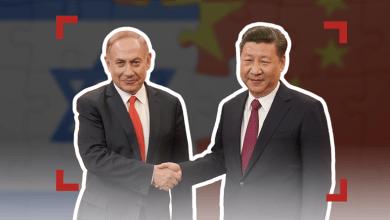 صورة اللوبي اليهودي –الصيني يخطط  لسقوط أمريكا من بكين
