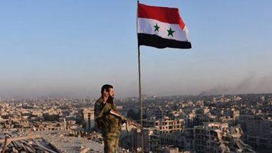 صورة وحدة الأراضي السورية أمان للمنطقة برمتها